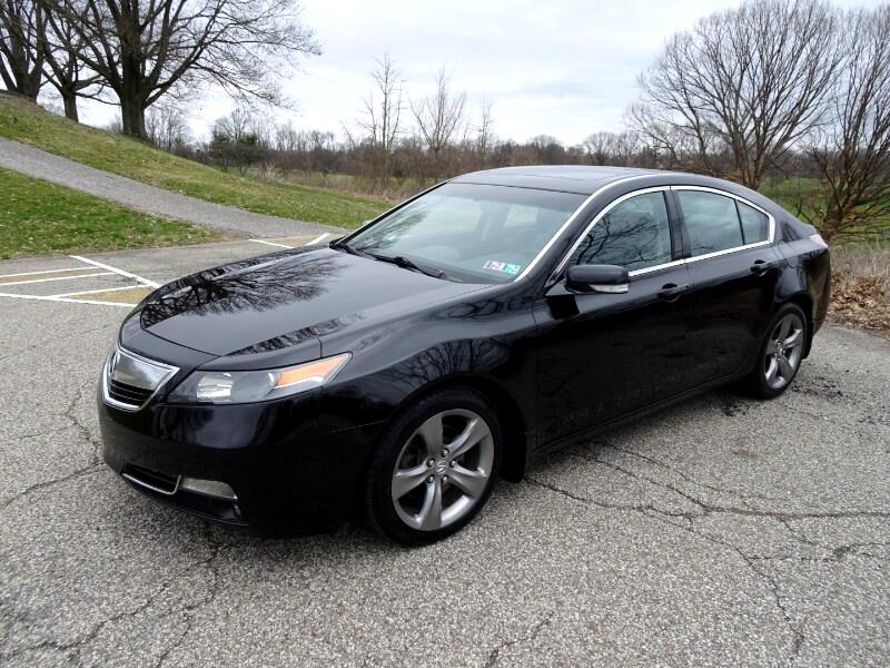 Acura TL 6-Speed MT SH-AWD with Tech Package and HPT 2013