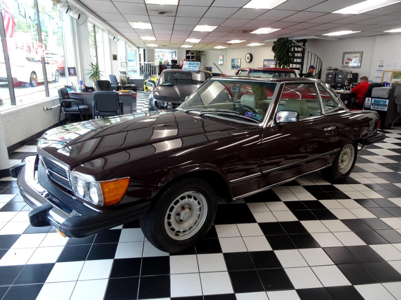 Mercedes-Benz 450SL  1980