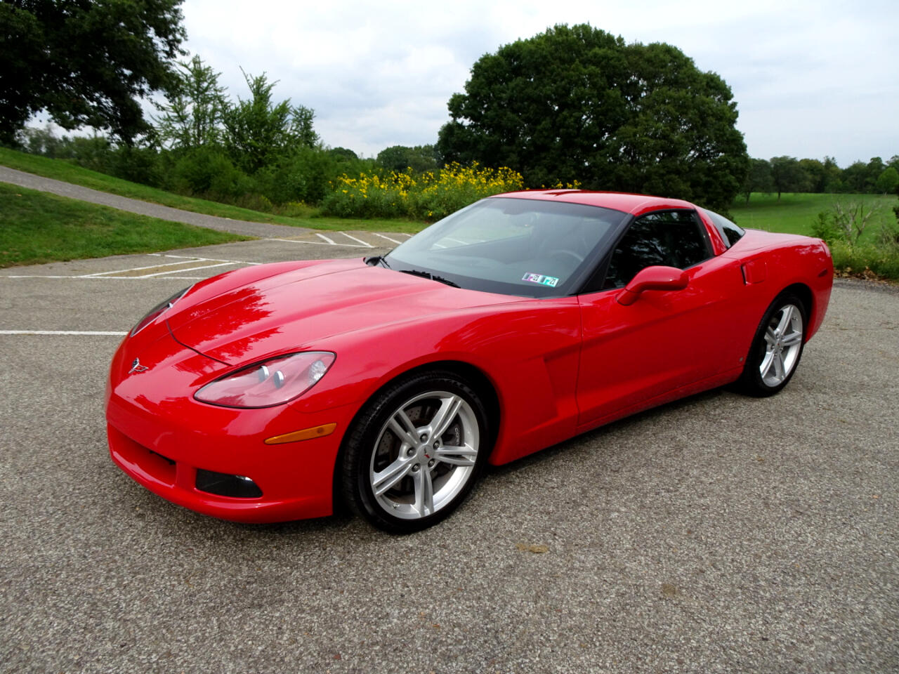 Chevrolet Corvette Z51 2D Coupe 2008