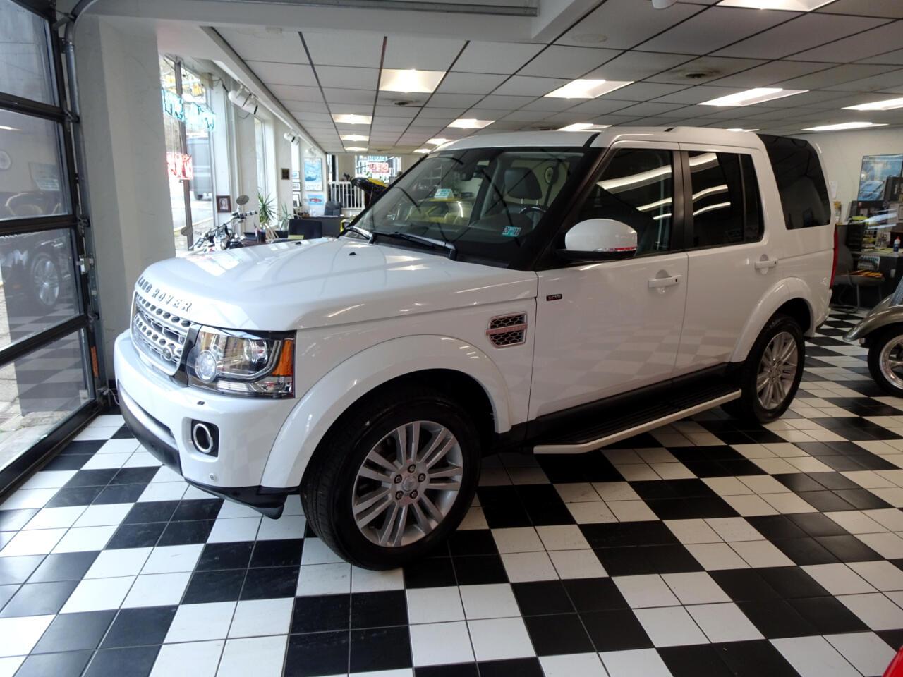 Land Rover LR4 HSE Luxury 2016