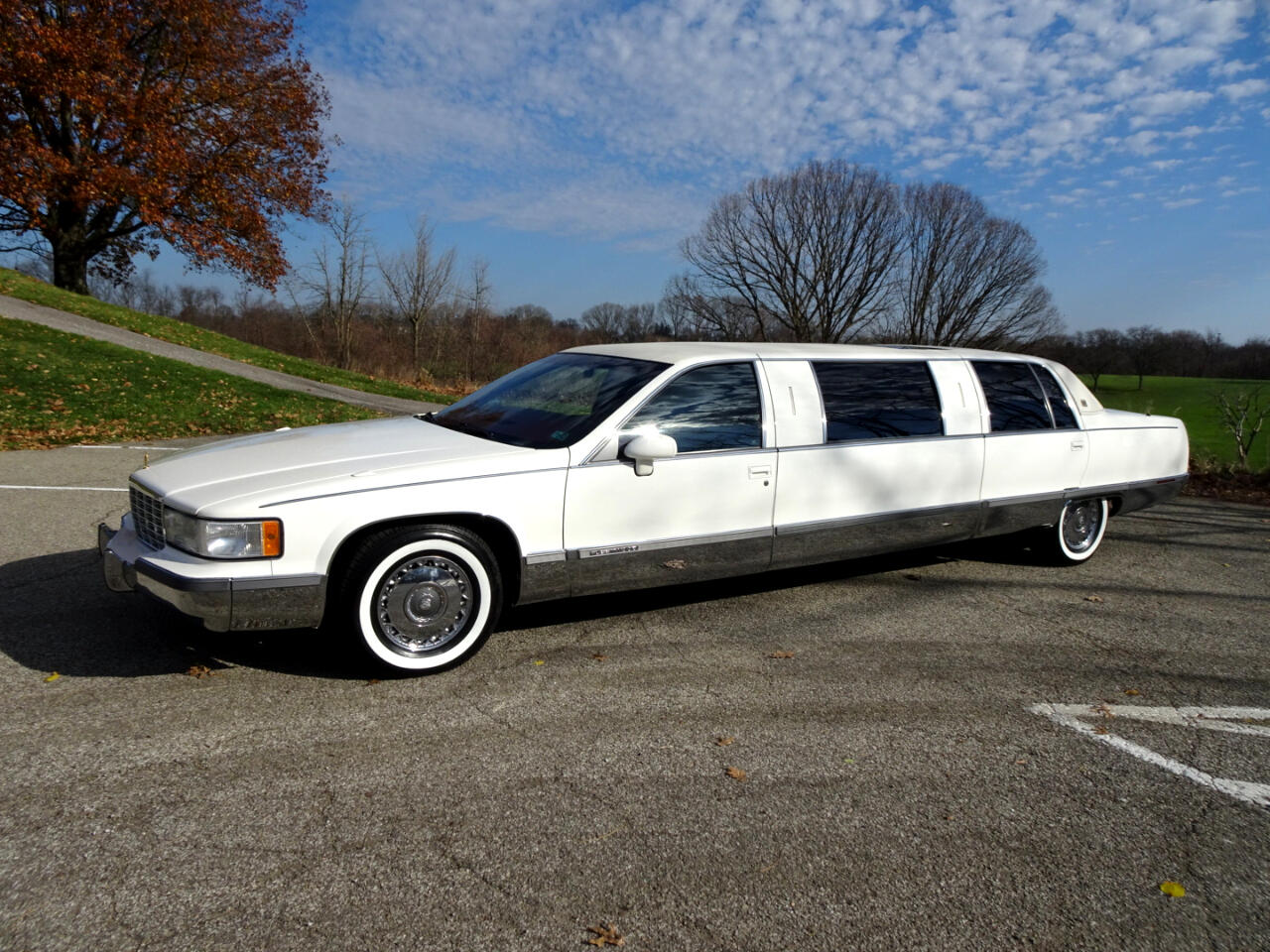 Cadillac Fleetwood Limousine 1993