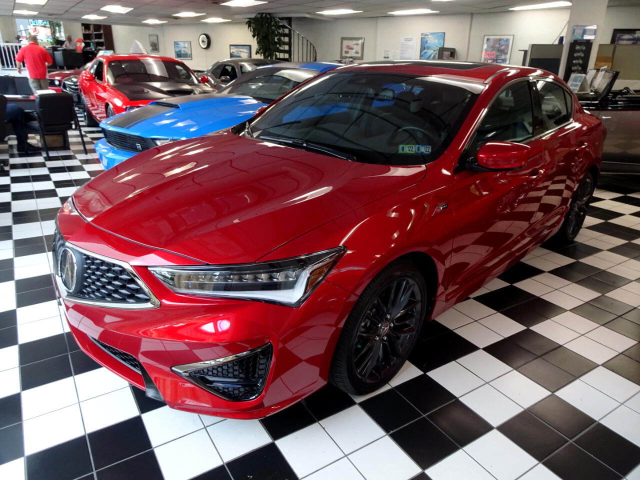 Acura ILX 8-Spd AT w/ Premium & A-SPEC Packages 2022