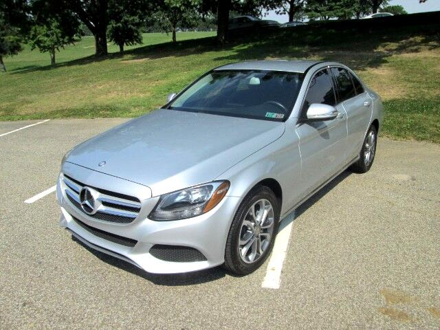 Used 2015 mercedes benz c class c300 4matic sedan for sale for Mercedes benz dealer in pa