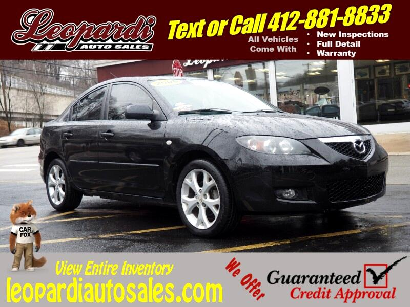 2009 Mazda MAZDA3 4dr Sdn Man i Touring Value