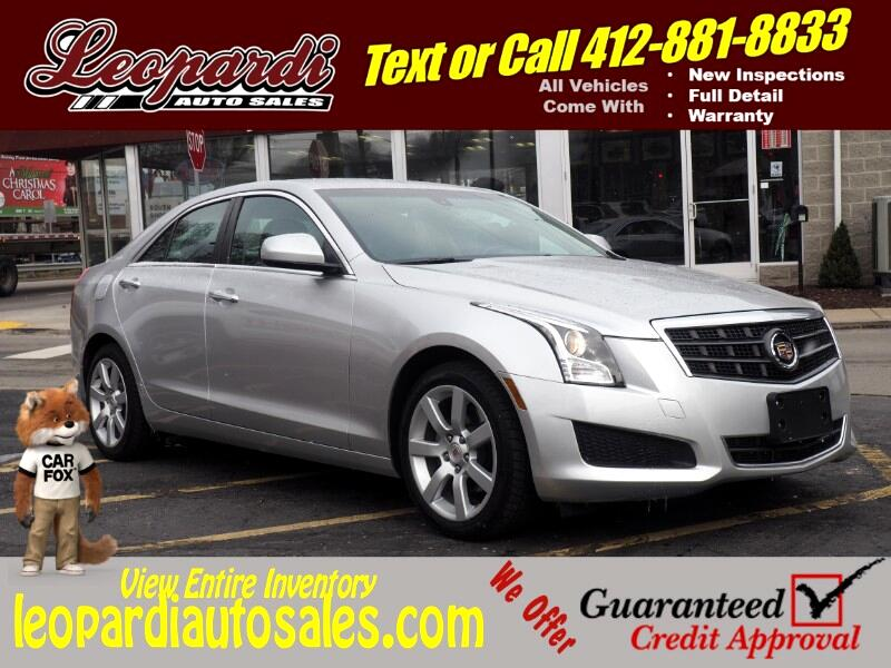 buy here pay here 2014 cadillac ats 4dr sdn 2 5l standard rwd for sale in pittsburgh pa 15234. Black Bedroom Furniture Sets. Home Design Ideas