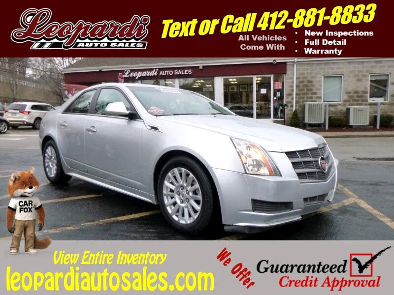 2011 Cadillac CTS Sedan 4dr Sdn 3.0L AWD
