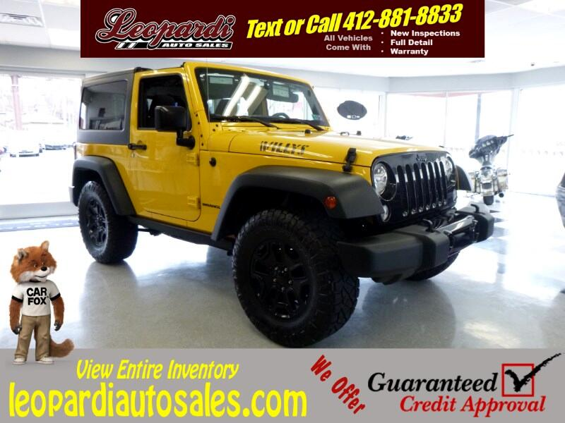 2015 Jeep Wrangler 4WD 2dr Willys Wheeler