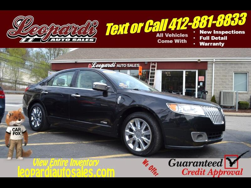 2012 Lincoln MKZ 4dr Sdn Hybrid FWD