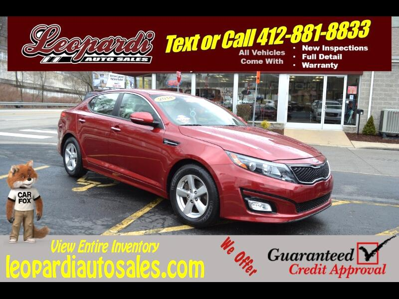 2014 Kia Optima 4dr Sdn LX
