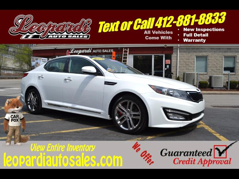 2013 Kia Optima 4dr Sdn SX w/Limited Pkg