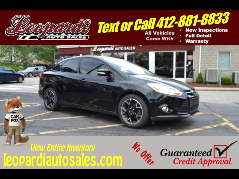 2013 Ford Focus 4dr Sdn SE