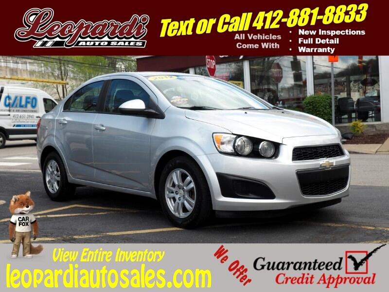 2012 Chevrolet Sonic 4dr Sdn LS 2LS