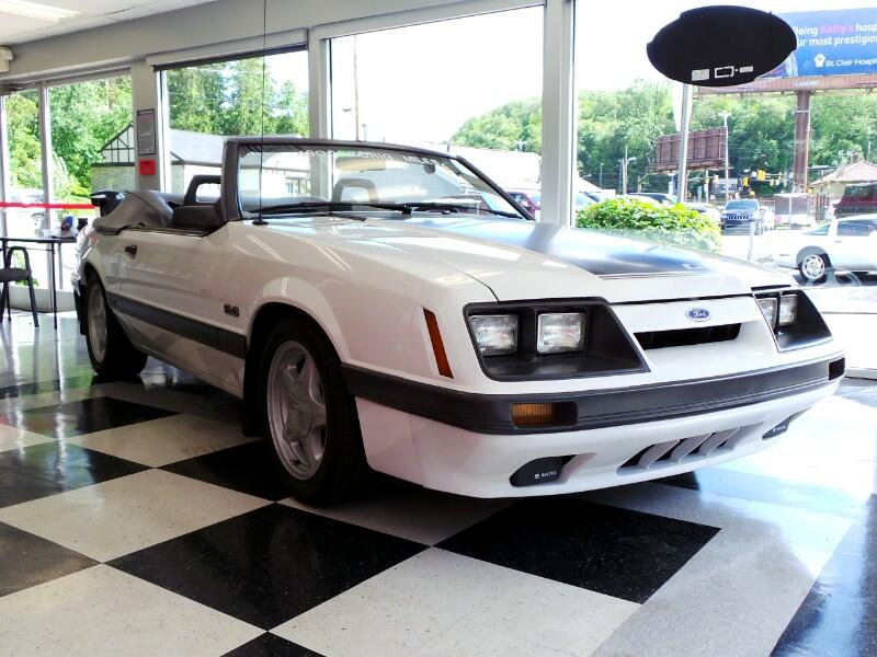 1985 Ford Mustang 2dr Convertible GT Auto