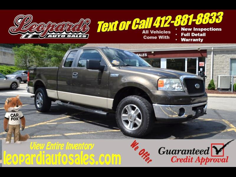 2008 Ford F-150 4WD SuperCab 145