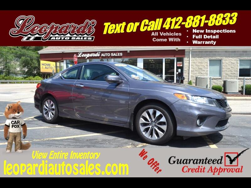 2014 Honda Accord Coupe 2dr I4 CVT EX-L