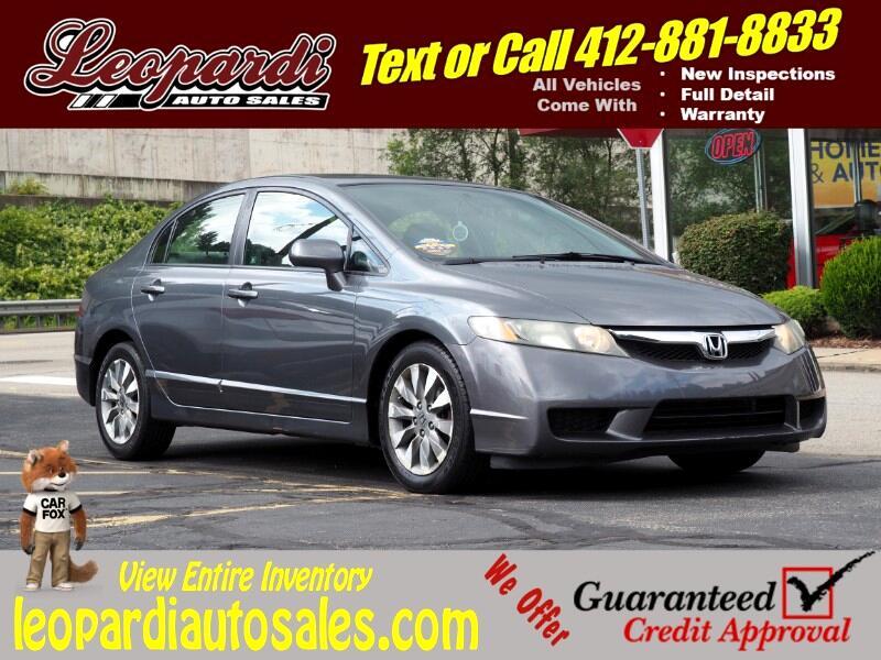2010 Honda Civic Sdn 4dr Auto EX