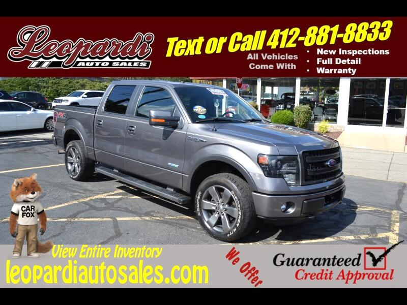 2013 Ford F-150 4WD SuperCrew 150
