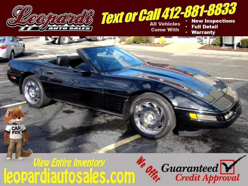 Chevrolet Corvette 2dr Convertible 1992