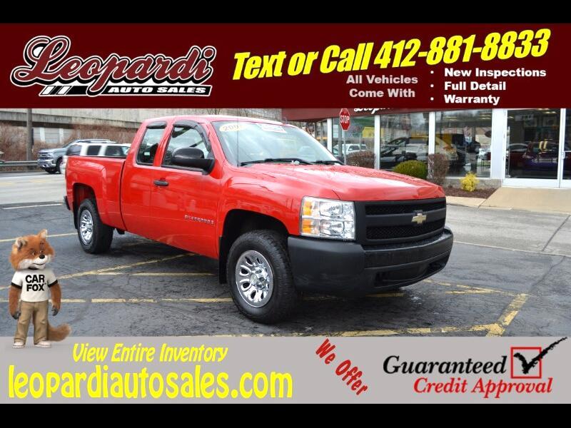 """Chevrolet Silverado 1500 4WD Ext Cab 143.5"""" Work Truck 2007"""
