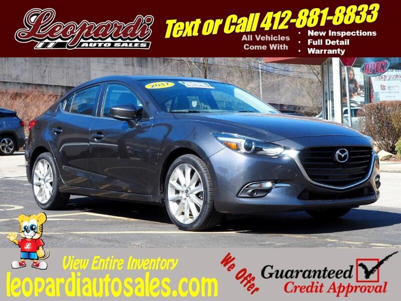 Mazda Mazda3 4-Door Grand Touring Auto 2017