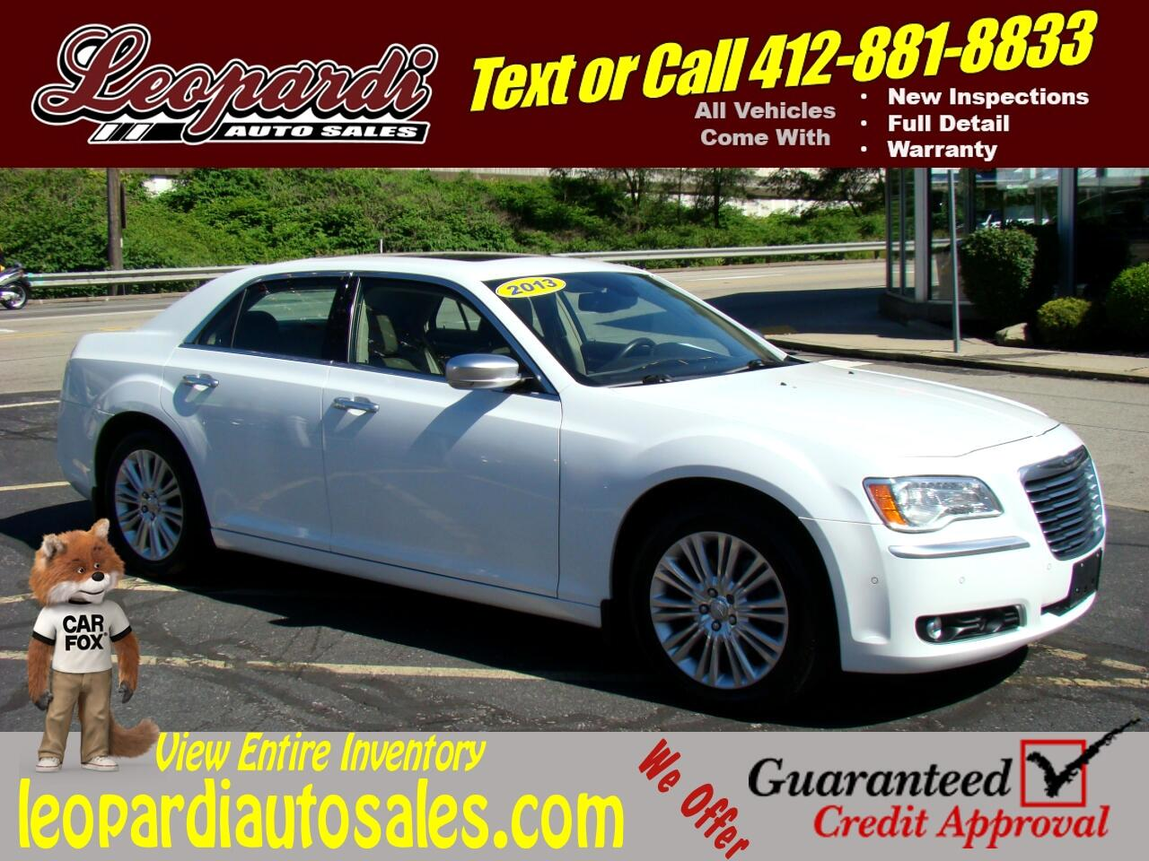Chrysler 300 4dr Sdn Luxury Series AWD *Ltd Avail* 2013