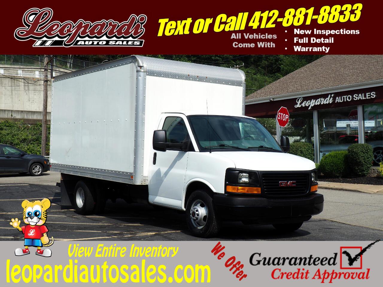 "GMC Savana Commercial Cutaway RWD 3500 159"" WB Work Van 2012"