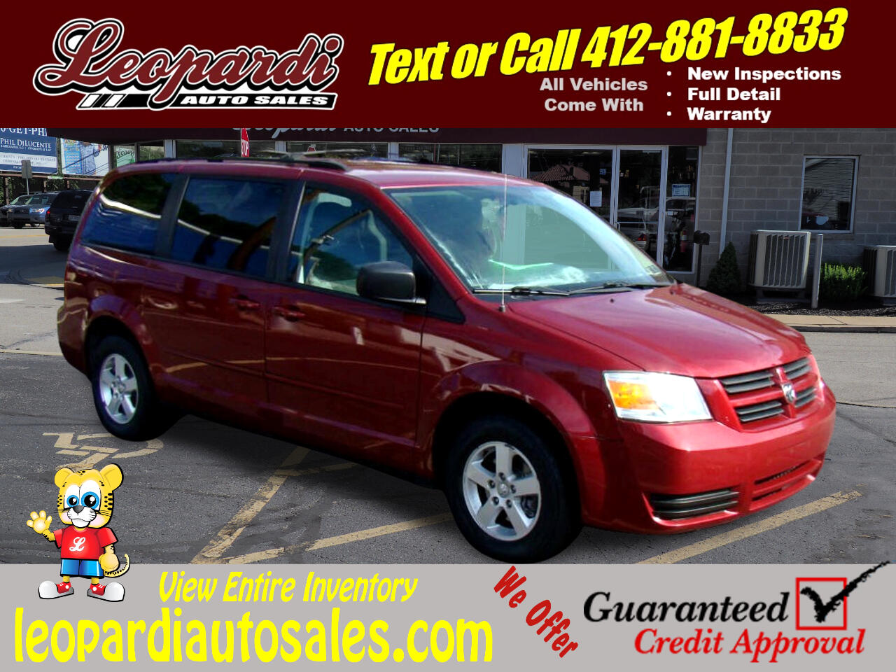 Dodge Grand Caravan 4dr Wgn Hero 2010