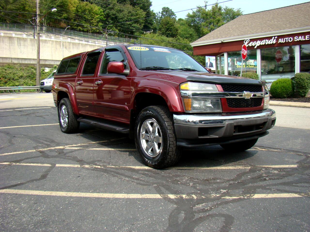 "Chevrolet Colorado 4WD Crew Cab 126.0"" LT w/2LT 2009"