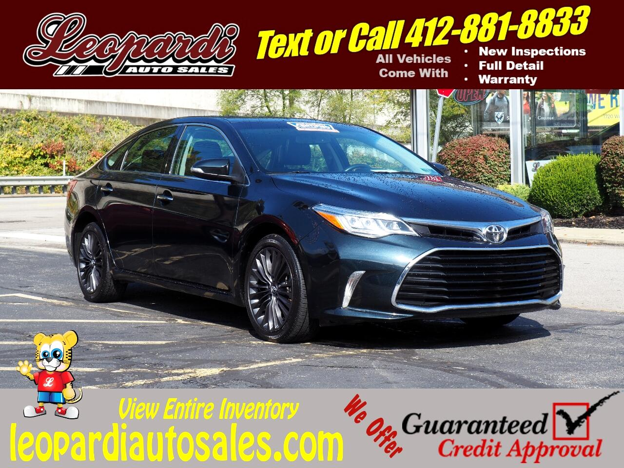 Toyota Avalon 4dr Sdn Touring (Natl) 2016