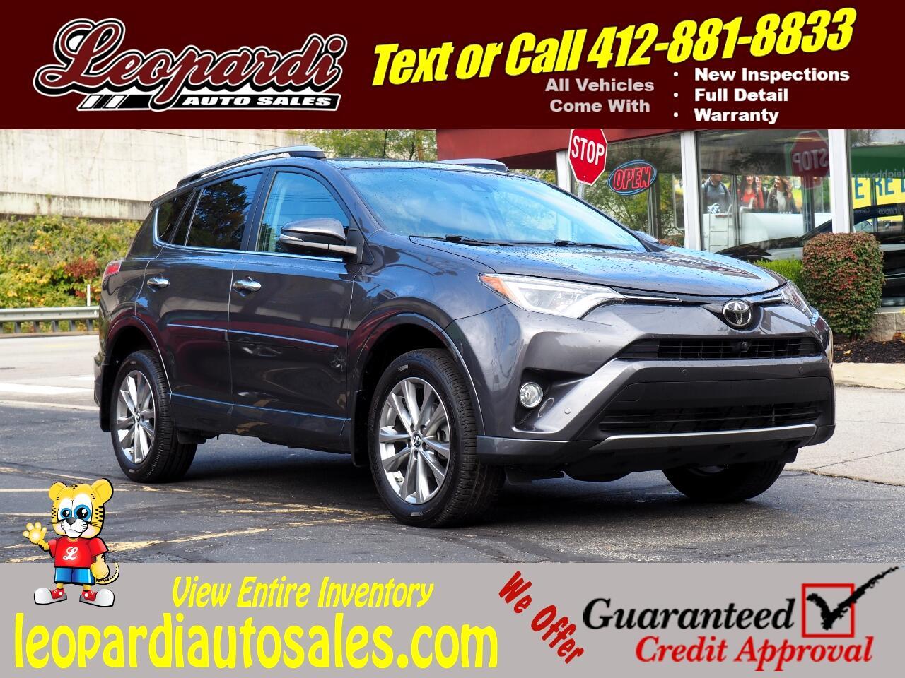 Toyota RAV4 Limited AWD (Natl) 2017