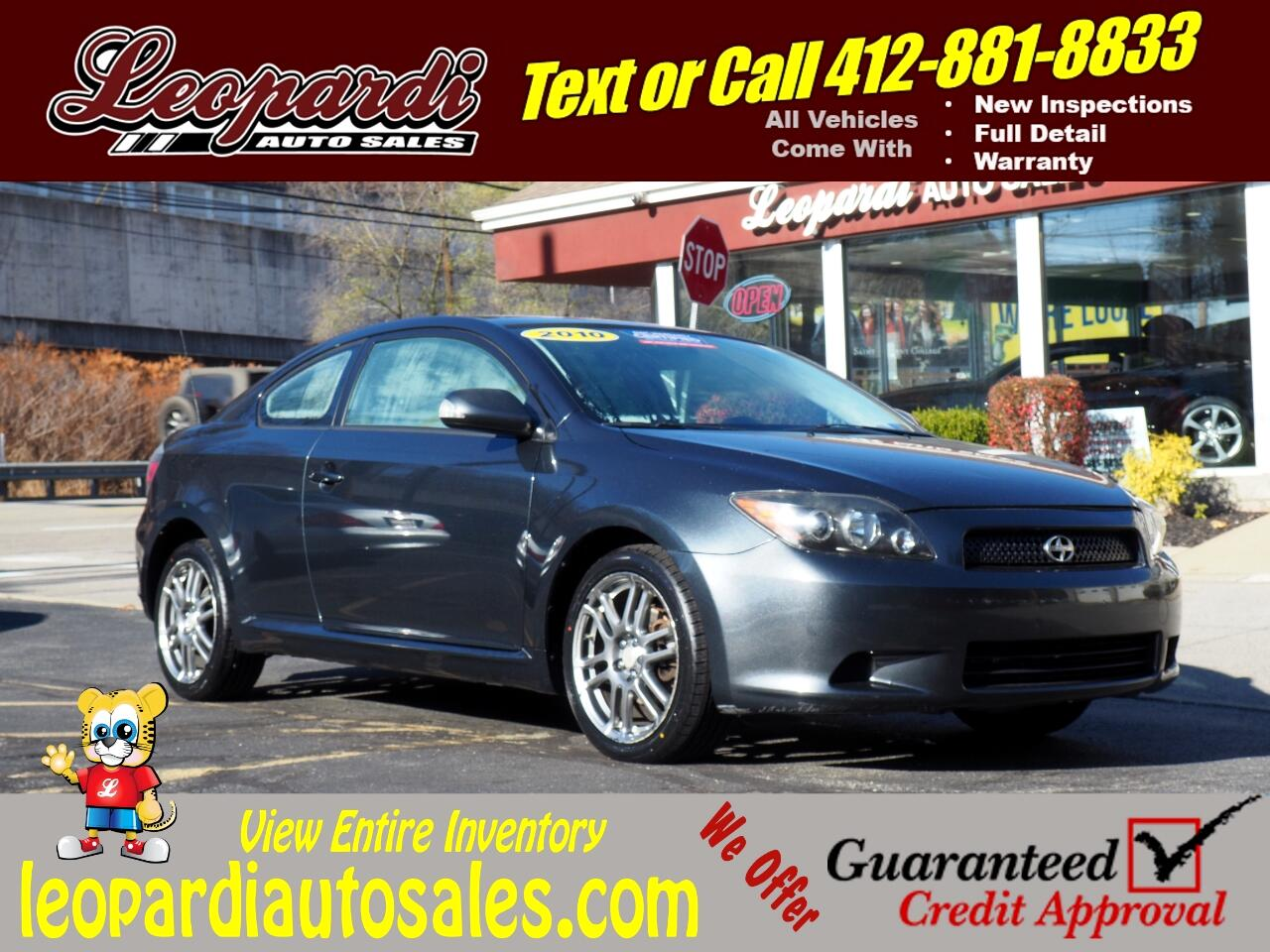 Scion tC 2dr HB Man (Natl) 2010