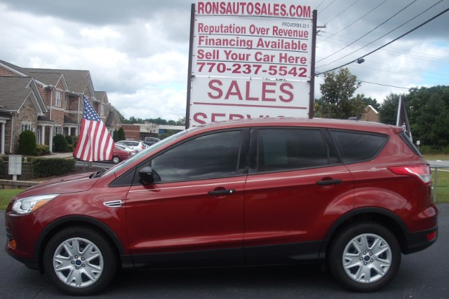 buy here pay here 2016 ford escape s fwd for sale in lawrenceville ga 30046 rons auto sales. Black Bedroom Furniture Sets. Home Design Ideas