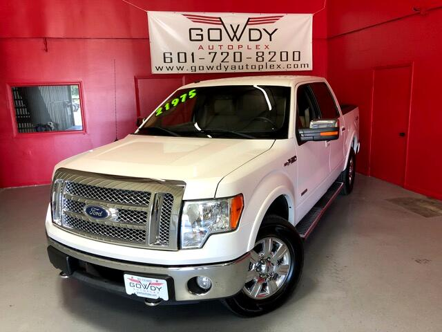 2011 Ford F-150 LARIAT SUPERCREW 5.5ft 4WD