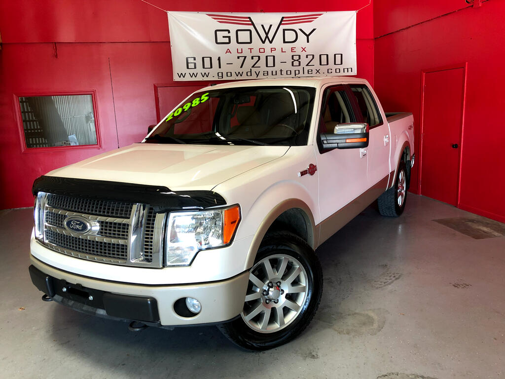 2010 Ford F-150 4WD SUPERCREW KING RANCH