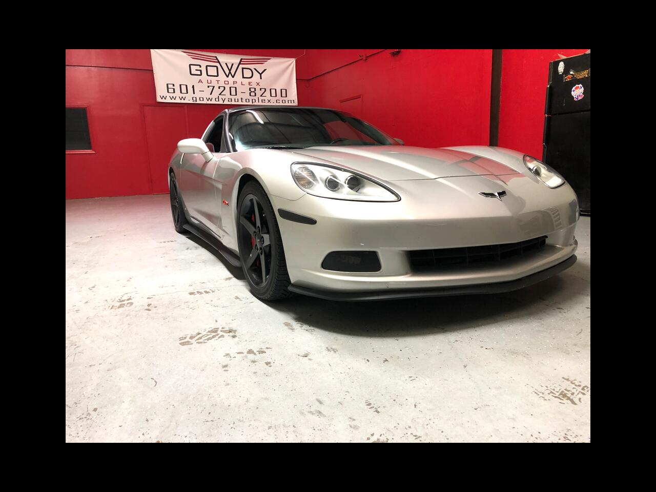 2007 Chevrolet Corvette 2dr COUPE LT2 WITH HEADSUP   OVER 5OO HP