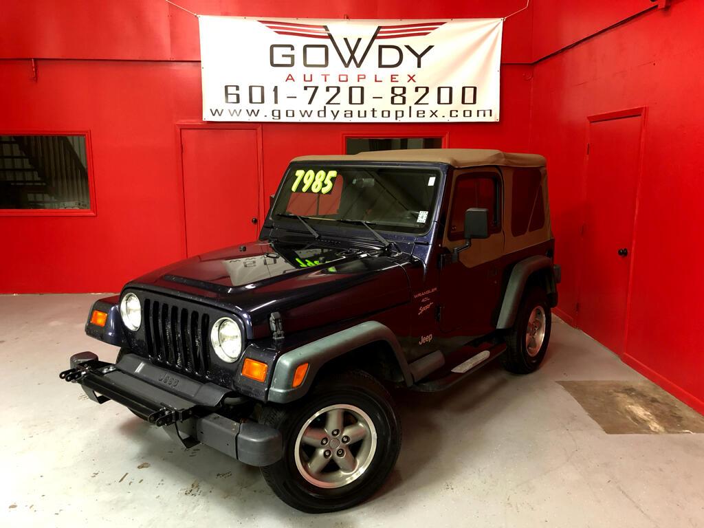 1999 Jeep Wrangler 2DR  SPORT EDITION  4WD  MANUEL TRANSMISSION