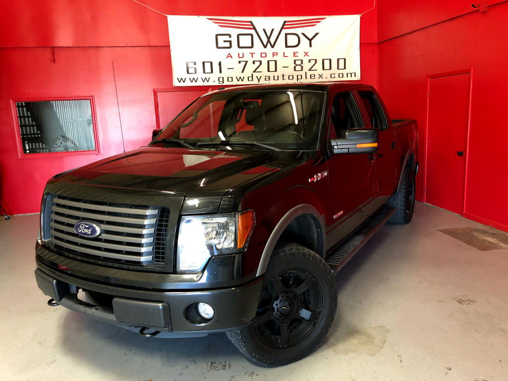2012 Ford F-150 4WD SUPER CREW   FX4