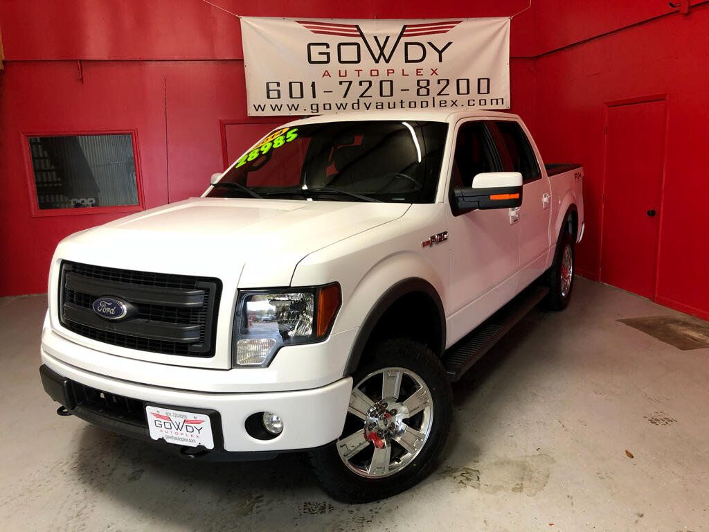 2014 Ford F-150 4WD SUPERCREW FX4