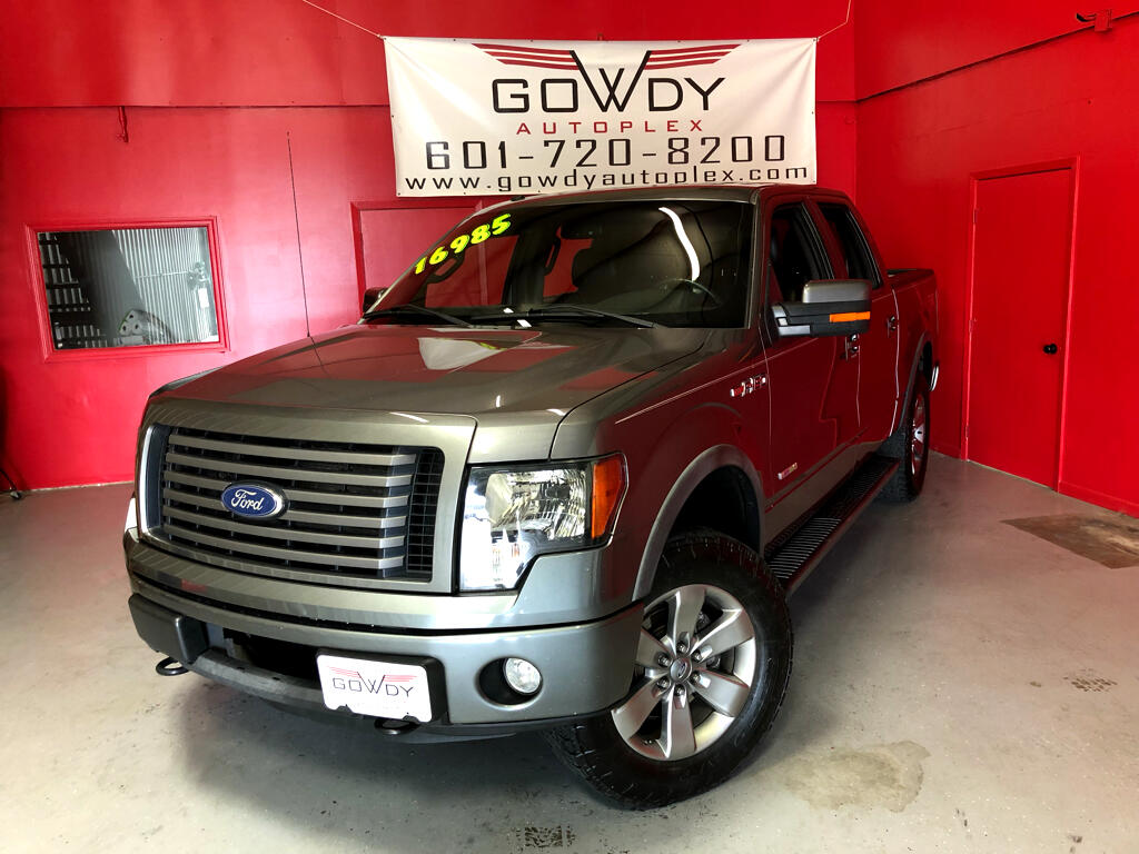 2011 Ford F-150 4WD SUPERCREW FX4  4X4   3.5L V6 TURBO