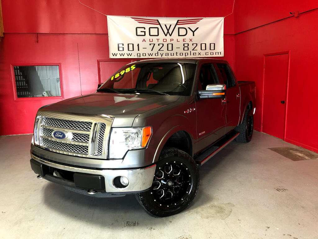 2011 Ford F-150 4WD SUPERCREW LARIAT