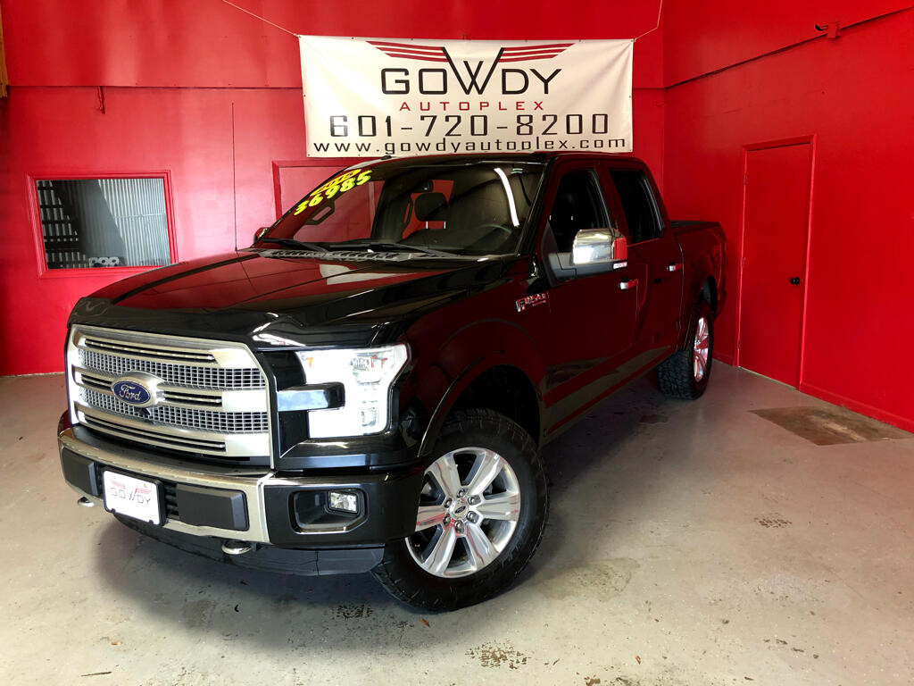 2015 Ford F-150 4WD SUPERCREW    PLATINUM EDITIOIN