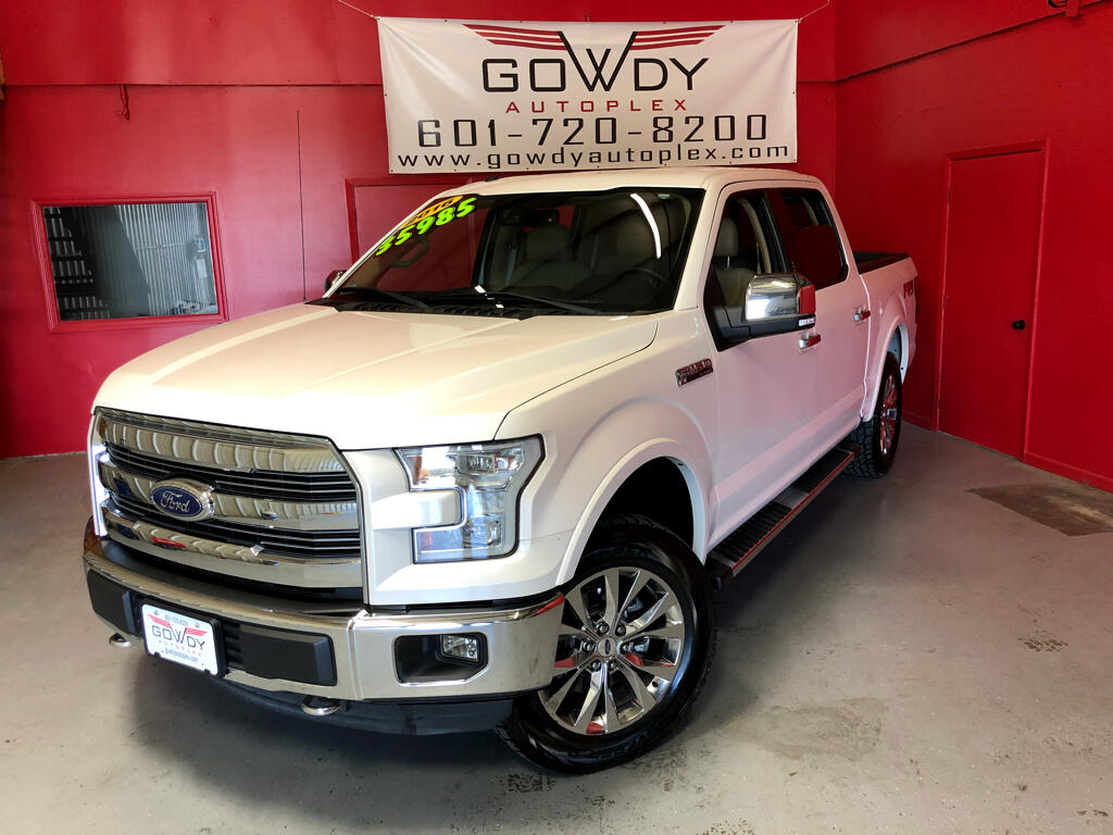 2016 Ford F-150 4WD SUPERCREW LARIAT