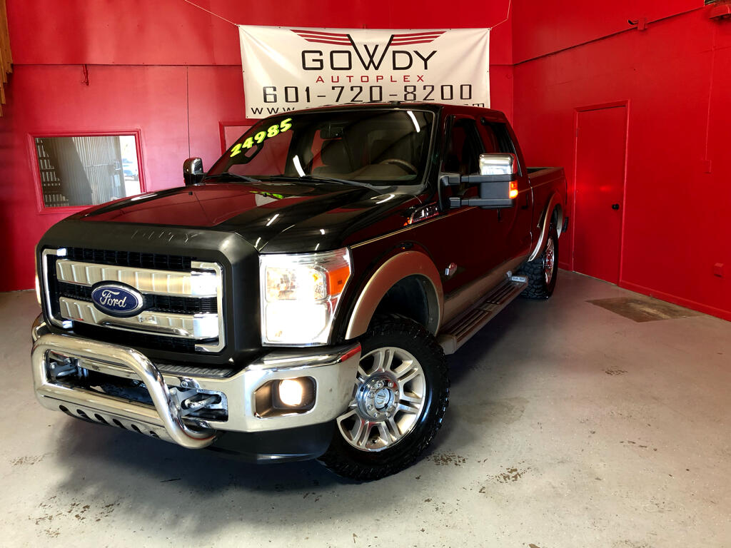 2011 Ford Super Duty F-250 SRW 4WD CREW CAB  KING RANCH    6.7L DIESEL