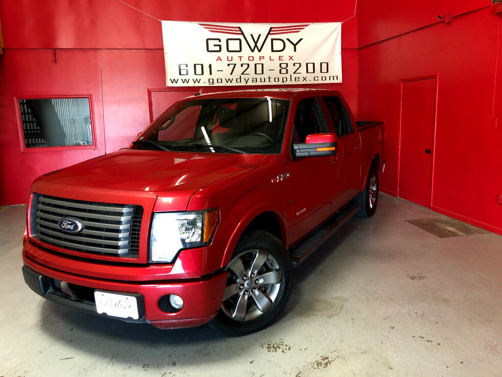 2012 Ford F-150 SUPERCREW FX2 PACKAGE  RWD