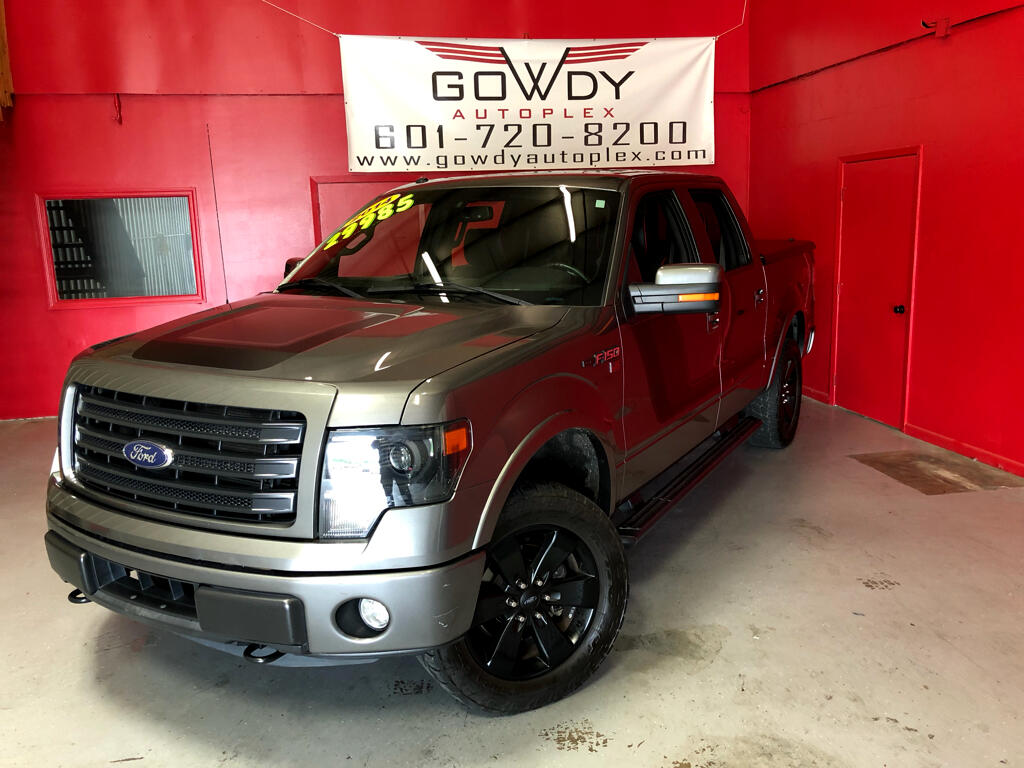 2014 Ford F-150 4WD SUPER CREW FX4 PACKAGE