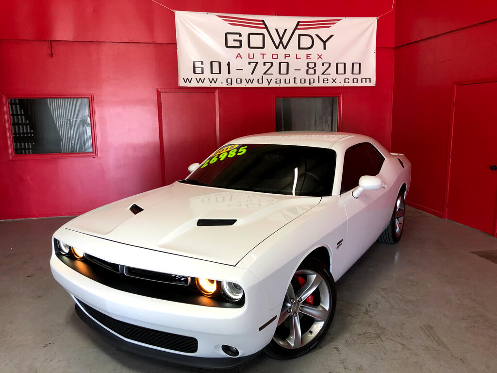 2015 Dodge Challenger 2DR COUPE R/T SUPERCHARGED