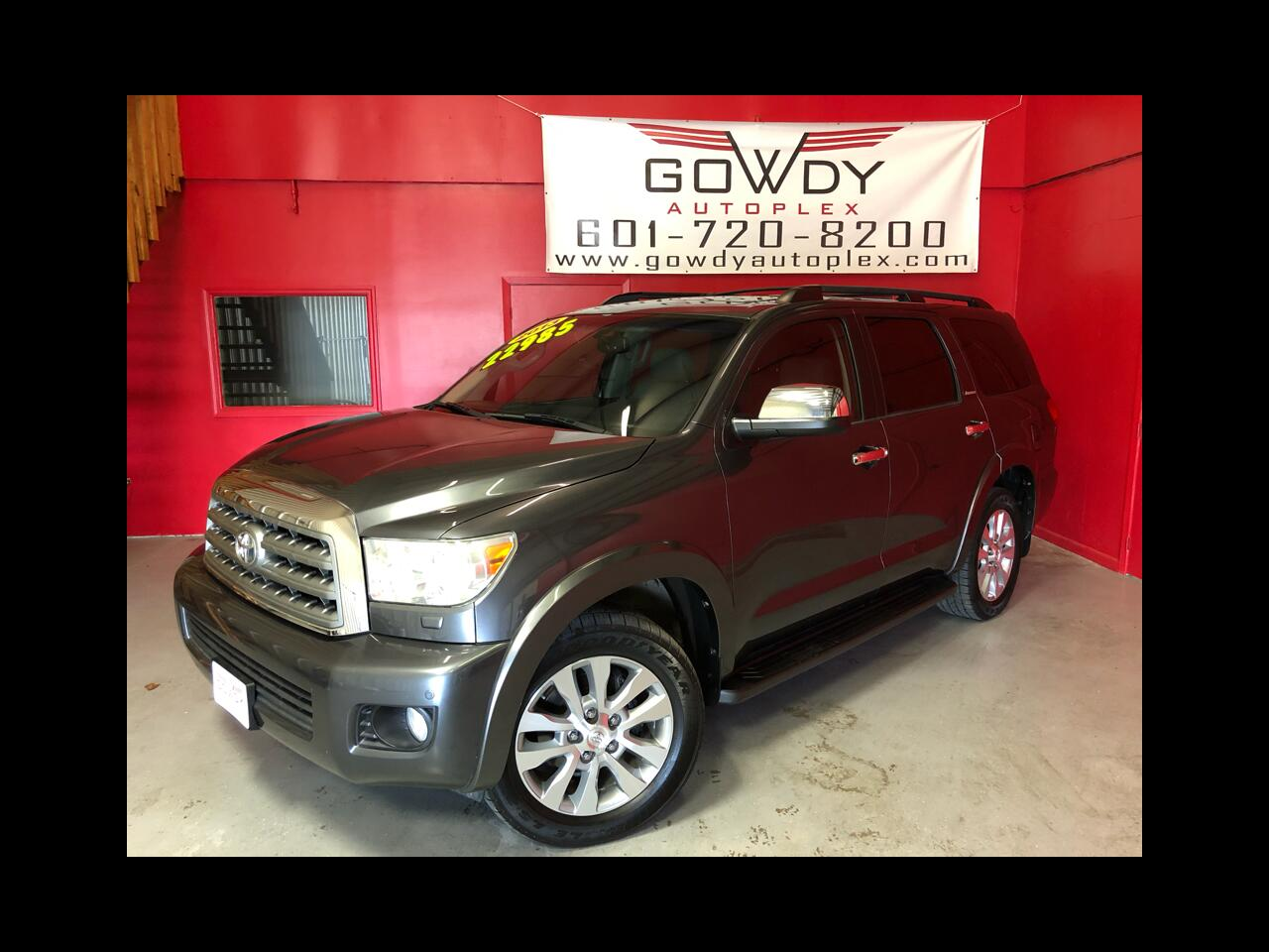 2013 Toyota Sequoia RWD 5.7L LIMITED