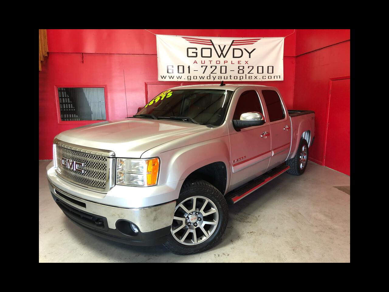 2012 GMC Sierra 1500 4WD CREW CAB SLE LEATHER