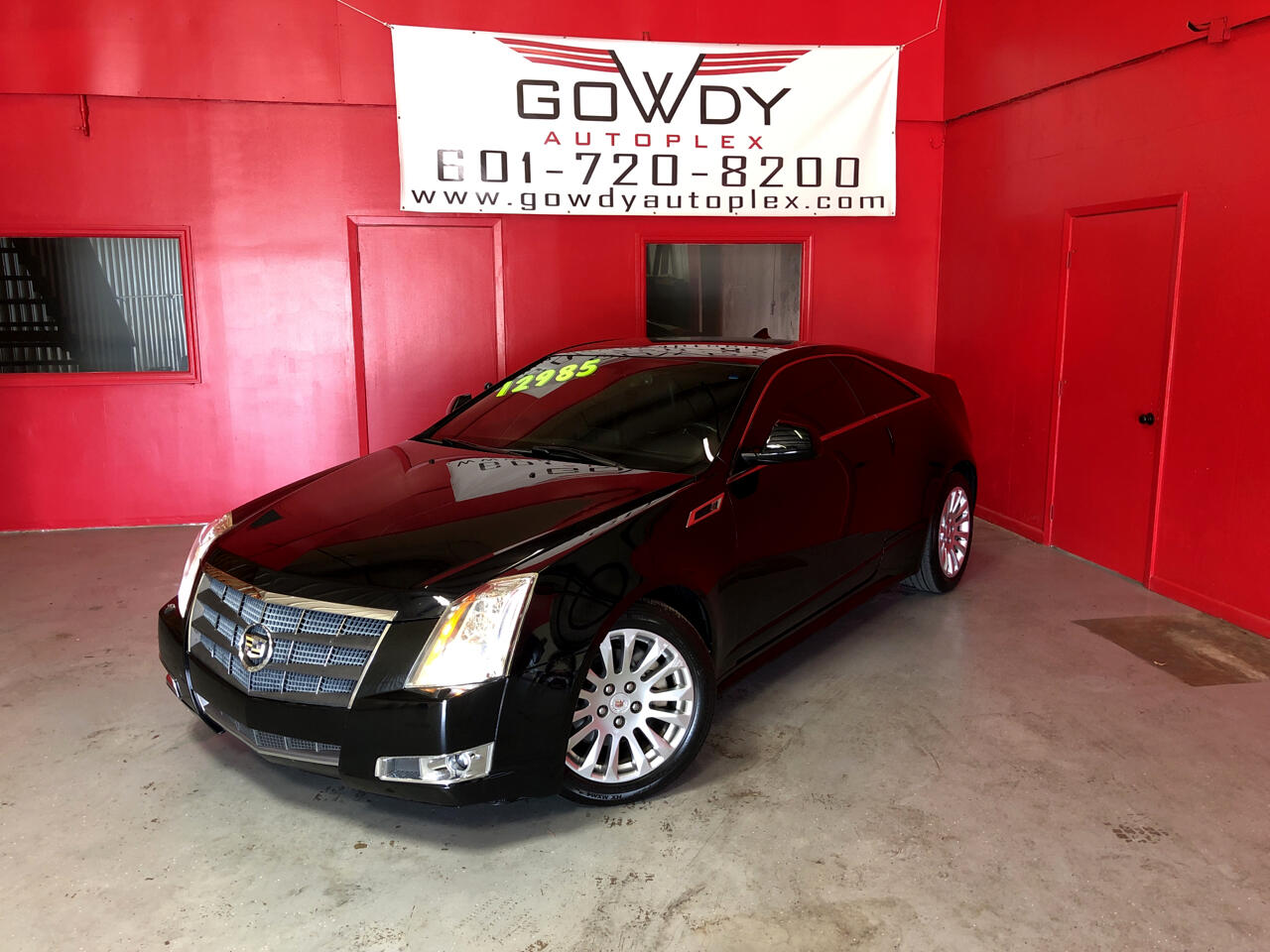 2011 Cadillac CTS Coupe 2dr Cpe Premium RWD