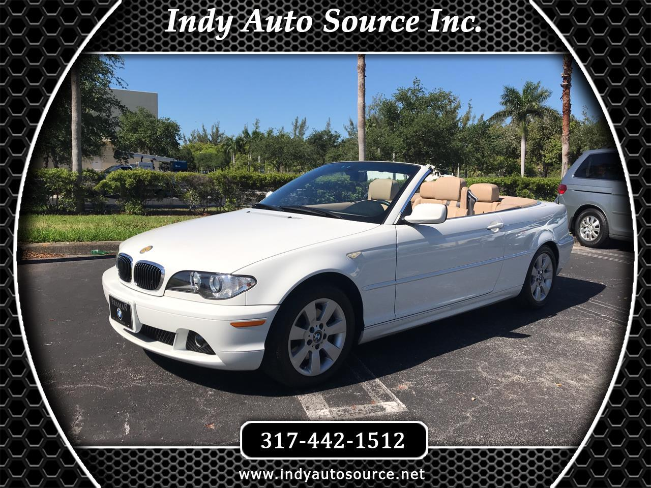 2005 BMW 3-Series 325Ci convertible
